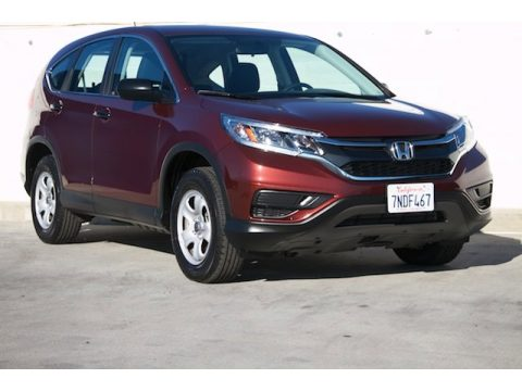 Basque Red Pearl II Honda CR-V LX.  Click to enlarge.