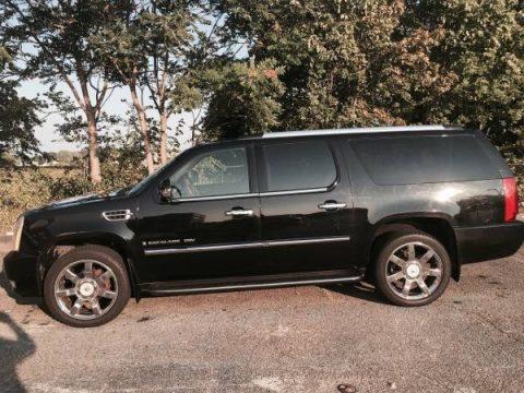 Black Raven Cadillac Escalade ESV AWD.  Click to enlarge.