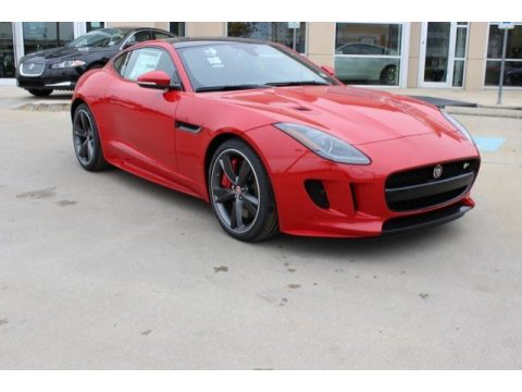 Caldera Red Jaguar F-TYPE R Coupe.  Click to enlarge.
