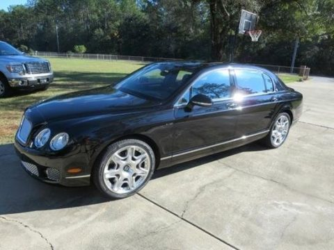 Onyx Bentley Continental Flying Spur Speed.  Click to enlarge.