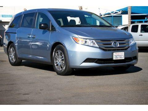 Celestial Blue Metallic Honda Odyssey EX-L.  Click to enlarge.