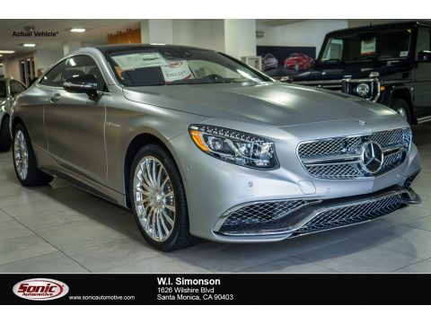 designo Magno Alanite Grey Metallic (matte) Mercedes-Benz S 65 AMG Coupe.  Click to enlarge.
