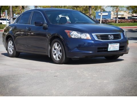 Royal Blue Pearl Honda Accord LX-P Sedan.  Click to enlarge.