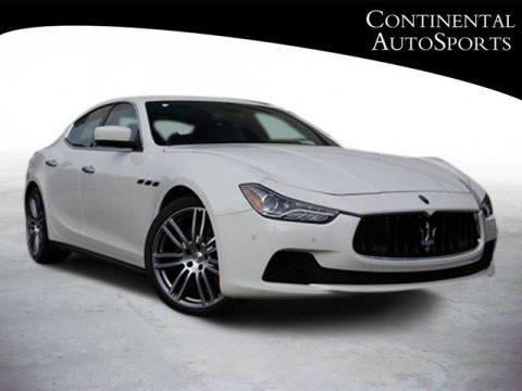 Bianco (White) Maserati Ghibli S Q4.  Click to enlarge.