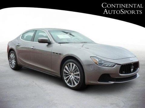 Grigio (Grey) Maserati Ghibli .  Click to enlarge.