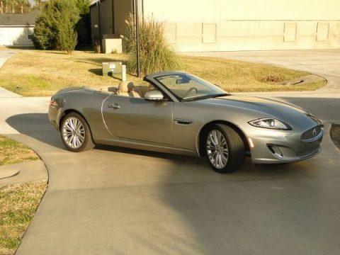Cashmere Metallic Jaguar XK XK Convertible.  Click to enlarge.