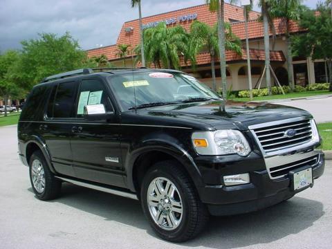used 2007 ford explorer limited for sale stock 55819a dealer car ad 11164587. Black Bedroom Furniture Sets. Home Design Ideas