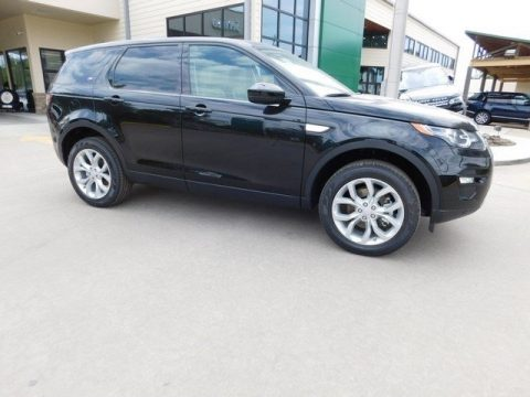 Santorini Black Metallic Land Rover Discovery Sport HSE 4WD.  Click to enlarge.
