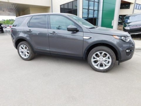 Waitomo Grey Metallic Land Rover Discovery Sport HSE 4WD.  Click to enlarge.