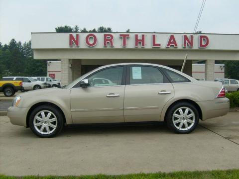 Pueblo Gold Metallic 2006 Ford Five Hundred Limited AWD with Pebble Beige