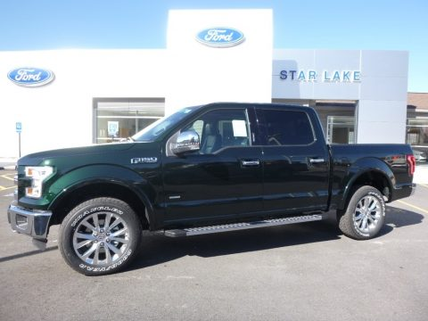 Green Gem Ford F150 Lariat SuperCrew 4x4.  Click to enlarge.