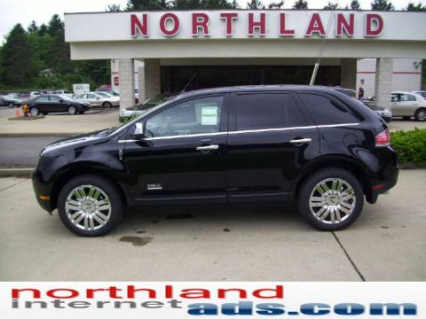 Lincoln Mkx 2009. Black 2009 Lincoln MKX Limited