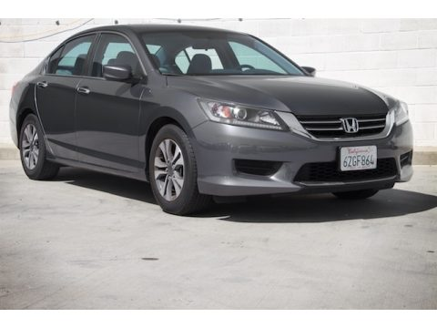 Modern Steel Metallic Honda Accord LX Sedan.  Click to enlarge.