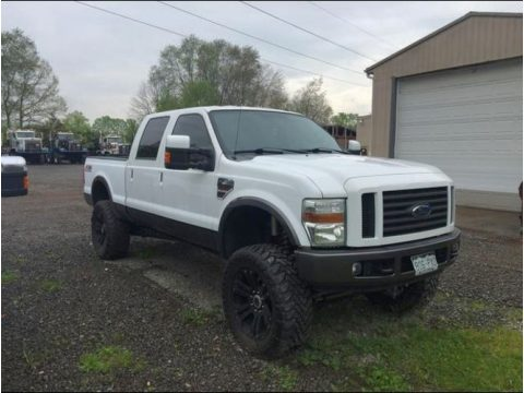 Oxford White Ford F250 Super Duty FX4 Crew Cab 4x4.  Click to enlarge.