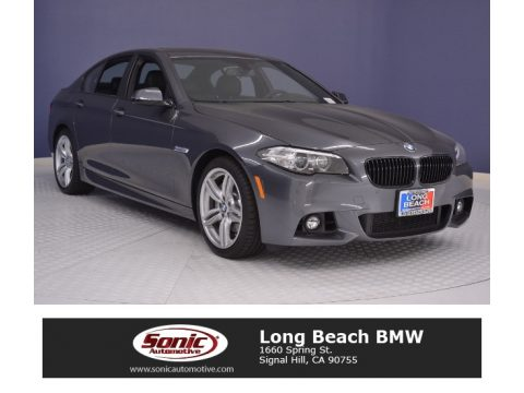 Space Grey Metallic BMW 5 Series 535i Sedan.  Click to enlarge.