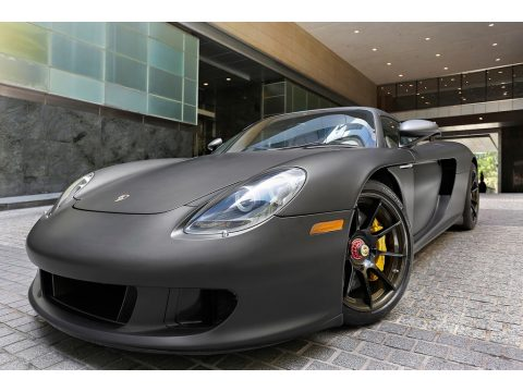 Black Porsche Carrera GT .  Click to enlarge.