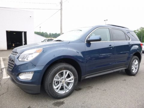 Patriot Blue Metallic Chevrolet Equinox LT.  Click to enlarge.