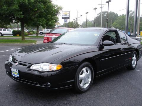 used 2001 chevrolet monte carlo ss for sale stock lc78053 dealer car ad. Black Bedroom Furniture Sets. Home Design Ideas