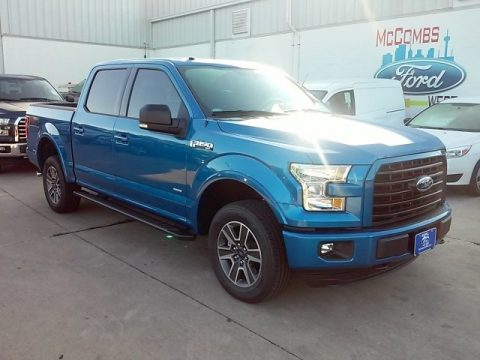 Blue Flame Ford F150 XLT SuperCrew 4x4.  Click to enlarge.