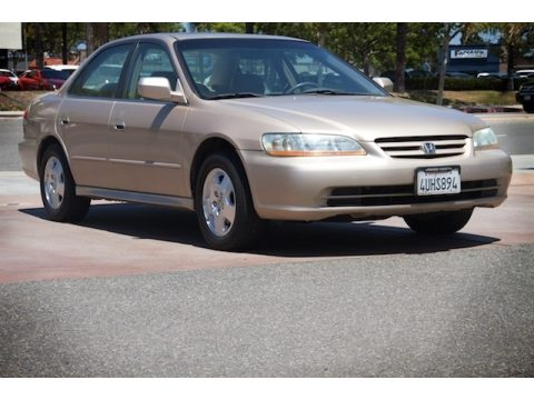 Naples Gold Metallic Honda Accord EX V6 Sedan.  Click to enlarge.