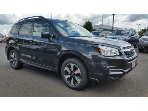 Dark Gray Metallic Subaru Forester 2.5i Premium.  Click to enlarge.