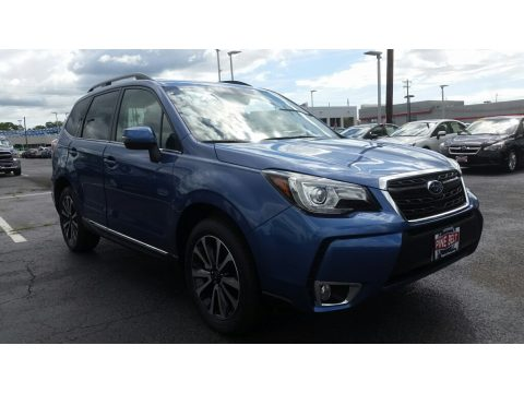 Quartz Blue Pearl Subaru Forester 2.0XT Touring.  Click to enlarge.