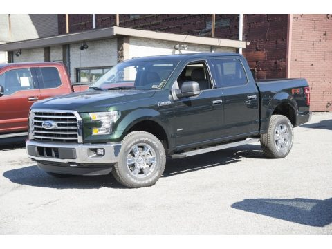 Green Gem Ford F150 XLT SuperCrew 4x4.  Click to enlarge.