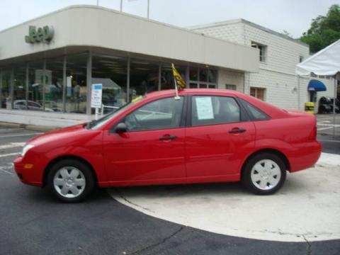 Used 2006 Ford Focus ZX4 SE Sedan for Sale - Stock #V9011A ...