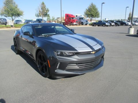 Nightfall Gray Metallic Chevrolet Camaro LT Coupe.  Click to enlarge.