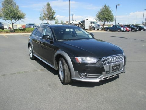 Brilliant Black Audi allroad Premium quattro.  Click to enlarge.