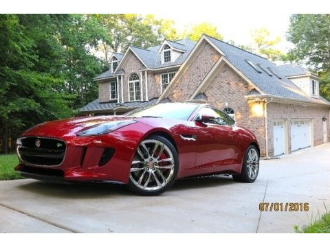 Salsa Red Jaguar F-TYPE R Coupe.  Click to enlarge.