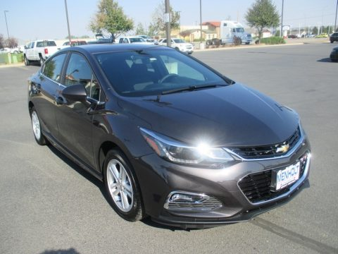 Tungsten Metallic Chevrolet Cruze LT Sedan.  Click to enlarge.