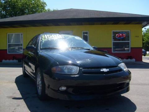 2003 Chevrolet Cavalier Ls. Black 2003 Chevrolet Cavalier