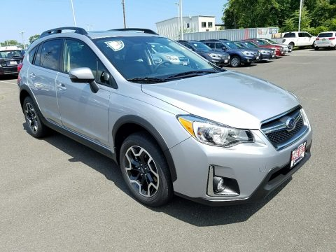 Ice Silver Metallic Subaru Crosstrek 2.0i Limited.  Click to enlarge.