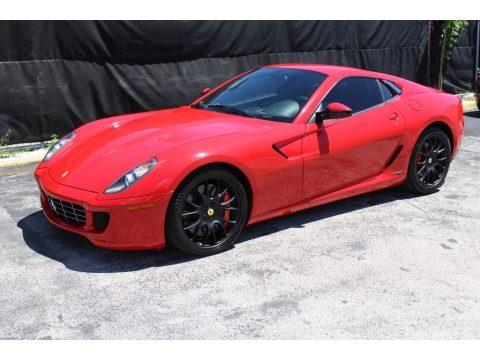Rosso Corsa (Red) Ferrari 599 GTB Fiorano F1.  Click to enlarge.