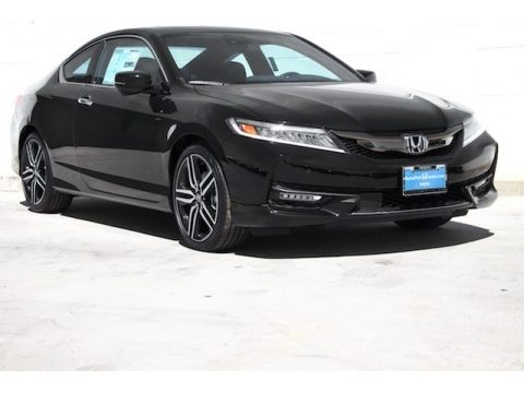 Crystal Black Pearl Honda Accord Touring Sedan.  Click to enlarge.