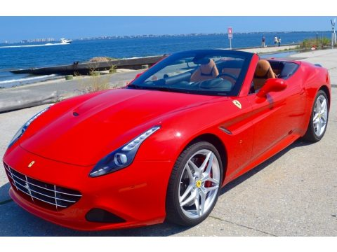 Rosso Scuderia Ferrari California T.  Click to enlarge.