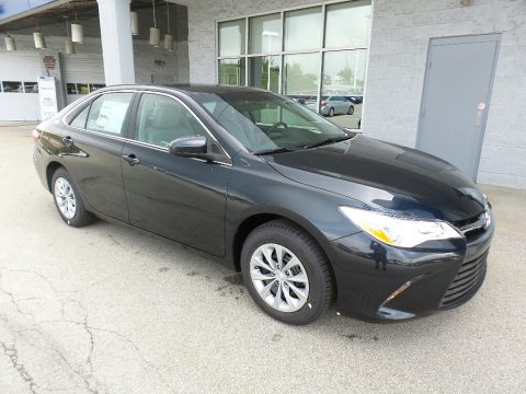 Cosmic Gray Mica Toyota Camry LE.  Click to enlarge.