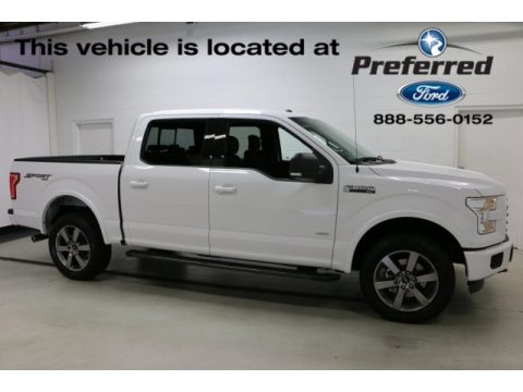 Oxford White Ford F150 XLT SuperCrew 4x4.  Click to enlarge.