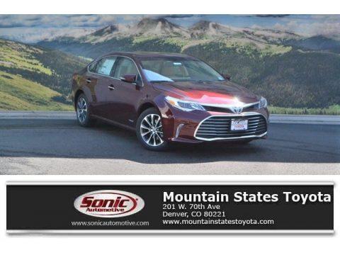 Ohh La La Rouge Mica Toyota Avalon Hybrid XLE Premium.  Click to enlarge.