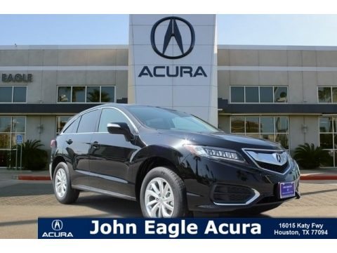 Crystal Black Pearl Acura RDX .  Click to enlarge.
