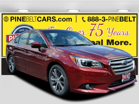 Venetian Red Pearl Subaru Legacy 2.5i Limited.  Click to enlarge.