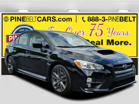 Crystal Black Silica Subaru WRX Premium.  Click to enlarge.