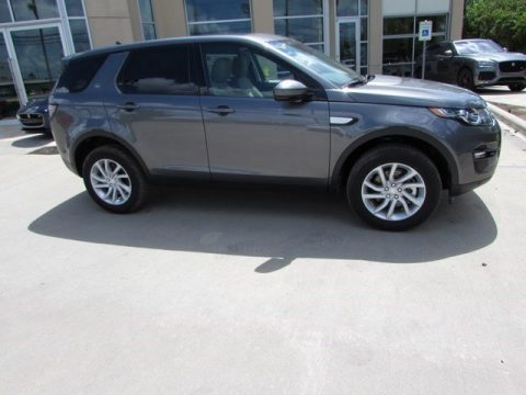 Corris Grey Metallic Land Rover Discovery Sport HSE 4WD.  Click to enlarge.
