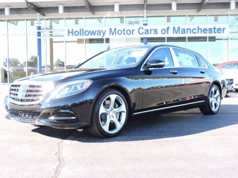 Black Mercedes-Benz S Mercedes-Maybach S600 Sedan.  Click to enlarge.