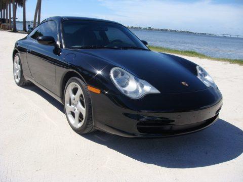 Black Porsche 911 Targa.  Click to enlarge.