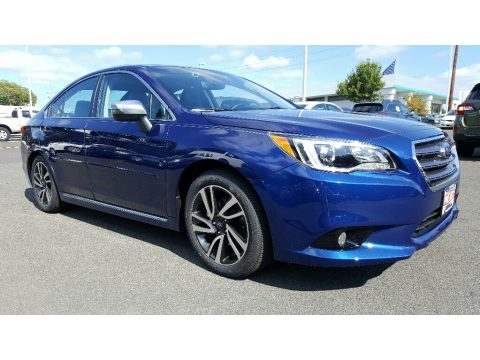 Lapis Blue Pearl Subaru Legacy 2.5i Sport.  Click to enlarge.