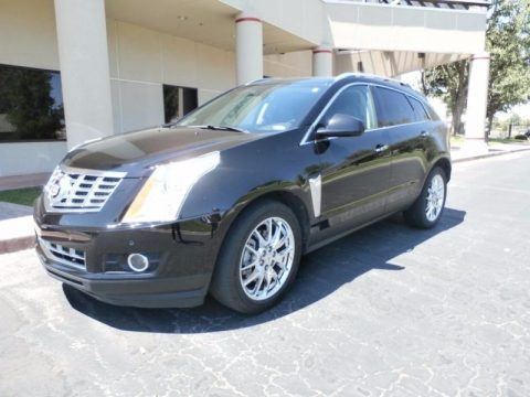 Black Ice Metallic Cadillac SRX Performance FWD.  Click to enlarge.