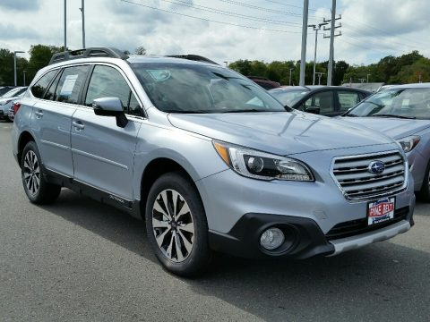Ice Silver Metallic Subaru Outback 3.6R Limited.  Click to enlarge.