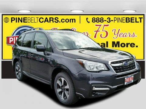 Dark Gray Metallic Subaru Forester 2.5i Premium.  Click to enlarge.